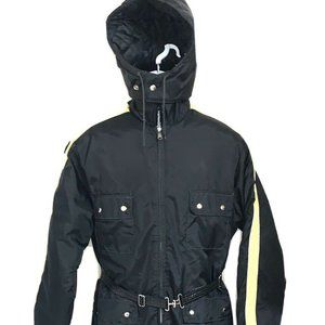 JCPenney Mens Small Vtg Hooded Snowmobile Snowsuit